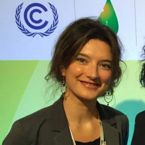 Climate Change Officer at United Nations High Commissioner for Refugees (UNHCR).
