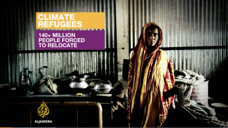 Mujer Refugiada A Causa Del Cambio Climático