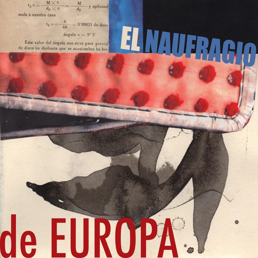 portada del libro titulado el naufragio de Europa