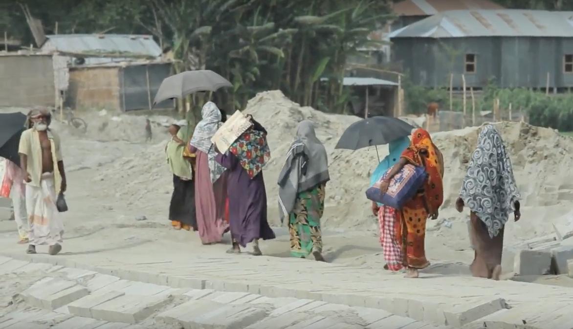 Refugiados Climáticos En Bangladesh