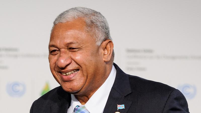 Frank Bainimarama, Primer Ministro De Fiji