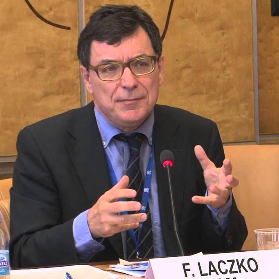 Director del Centro de Análisis de Datos Globales sobre Migración