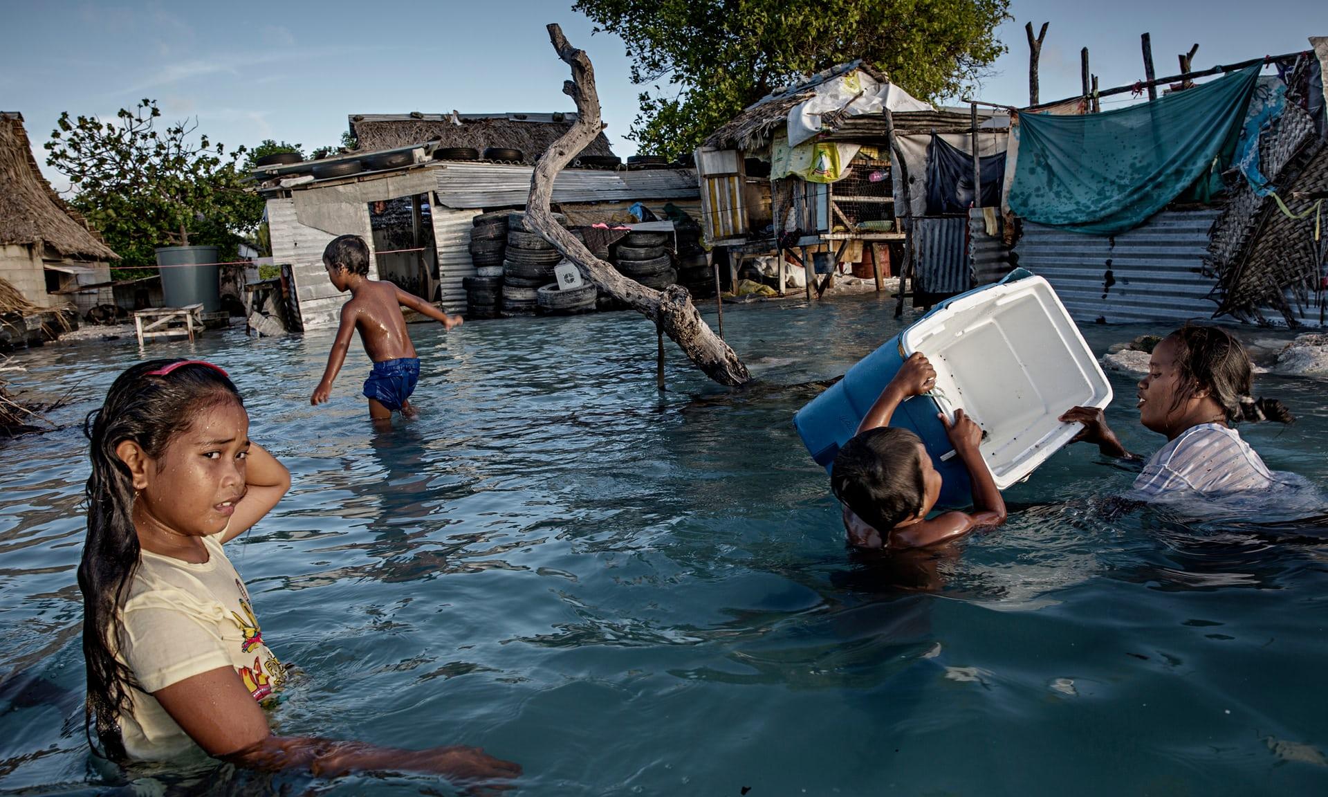 Refugiados Climáticos Ante La Subida Del Nivel Del Mar