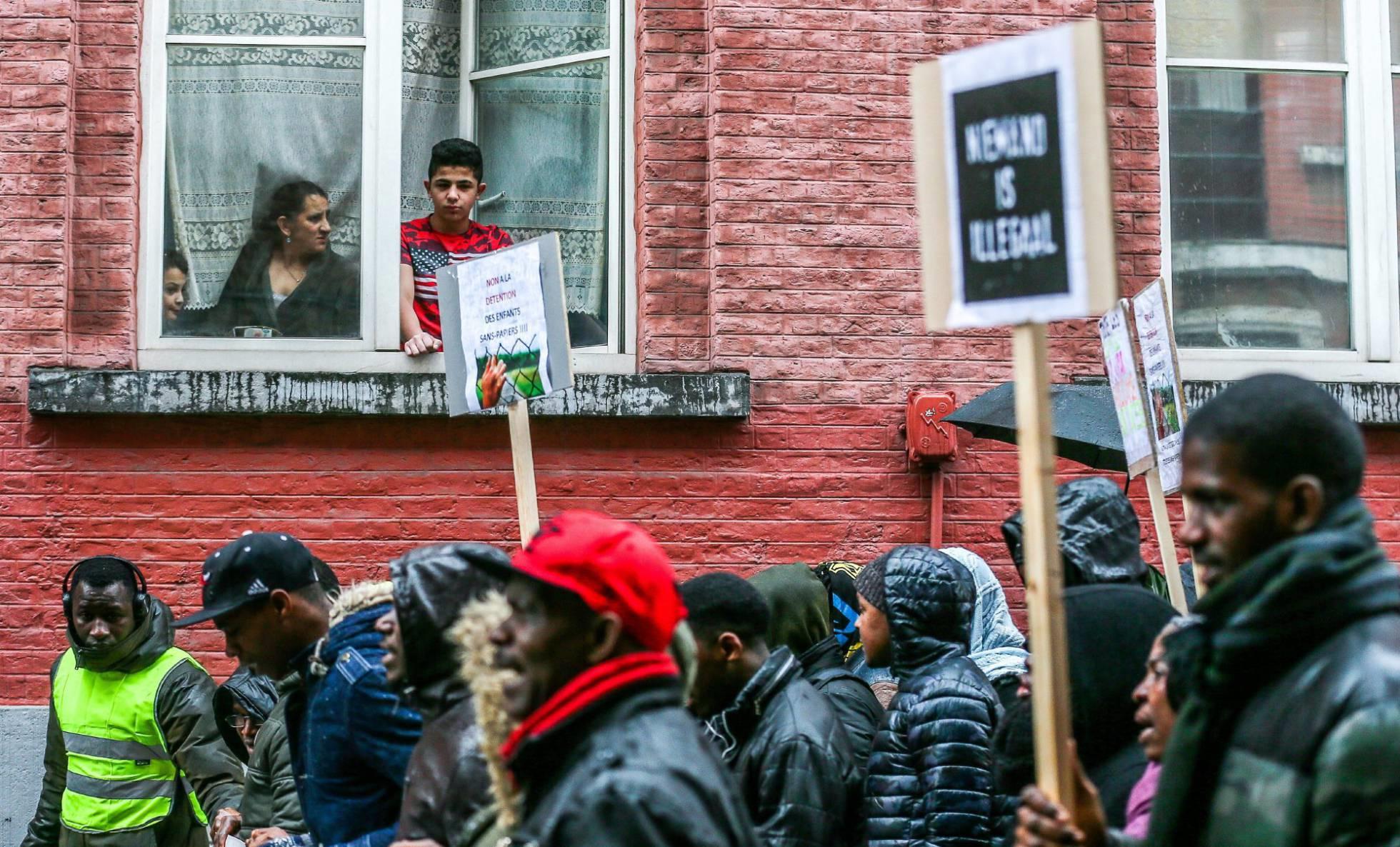 Una marcha de inmigrantes por su futuro