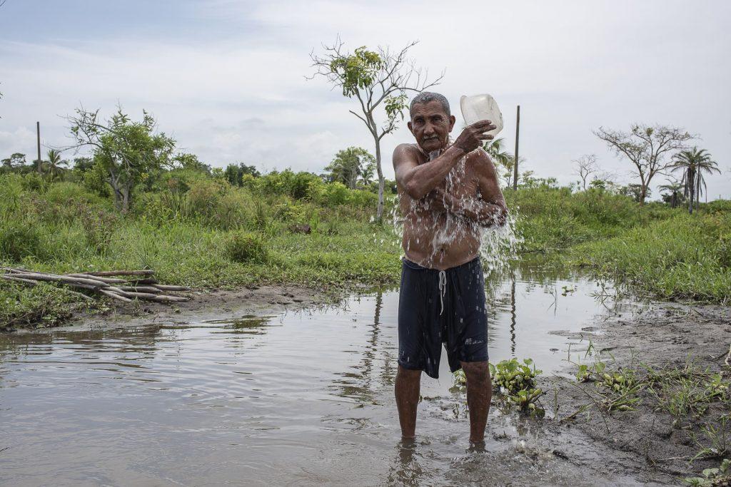Imagen un migrante del cambio climático en Colombia