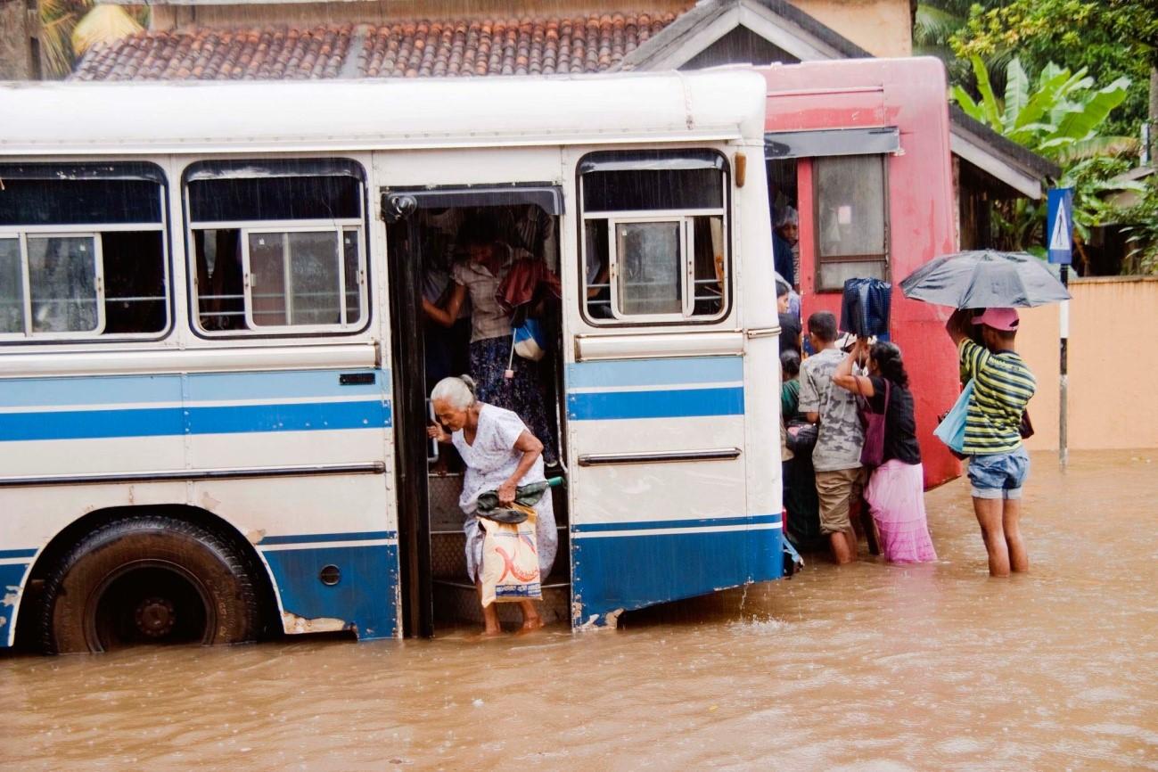 Sri Lanka, 80 mil personas afectadas por las inundaciones