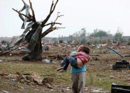 Latisha Garcia tras tornado en Oklahoma