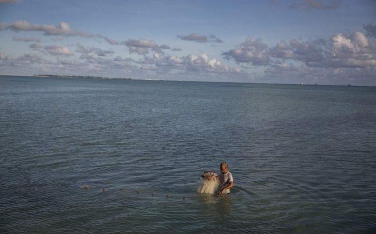el riesgo de inundaciones a causa del cambio climático en Tuvalu