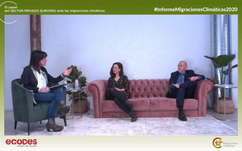 Webinar Presentacion del informe Migraciones Climaticas ECODES 2020